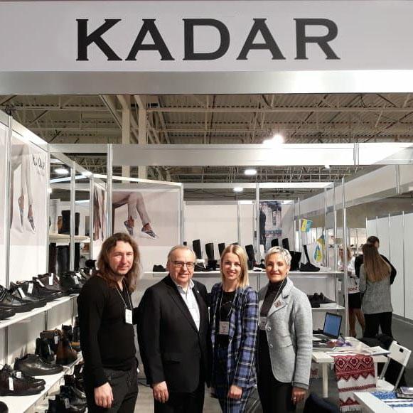78c714ae7a6542 Український виробник взуття КаДар взяв участь в міжнародній виставці в  Торонто